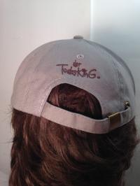 """Cap """"Der Todesking"""" (Grey with silver logo)"""