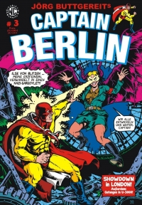 Captain Berlin #3 Comic