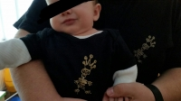 Baby Body lightblue size 86/92