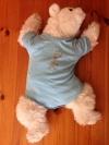Baby Body Blau Größe 62/68