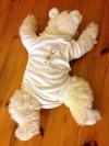 Baby Body Weiß Größe 74/80