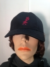 "Cap ""Der Todesking"" black with red logo"