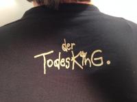 "Shirt ""25 Jahre Todesking"" male (size XL)"